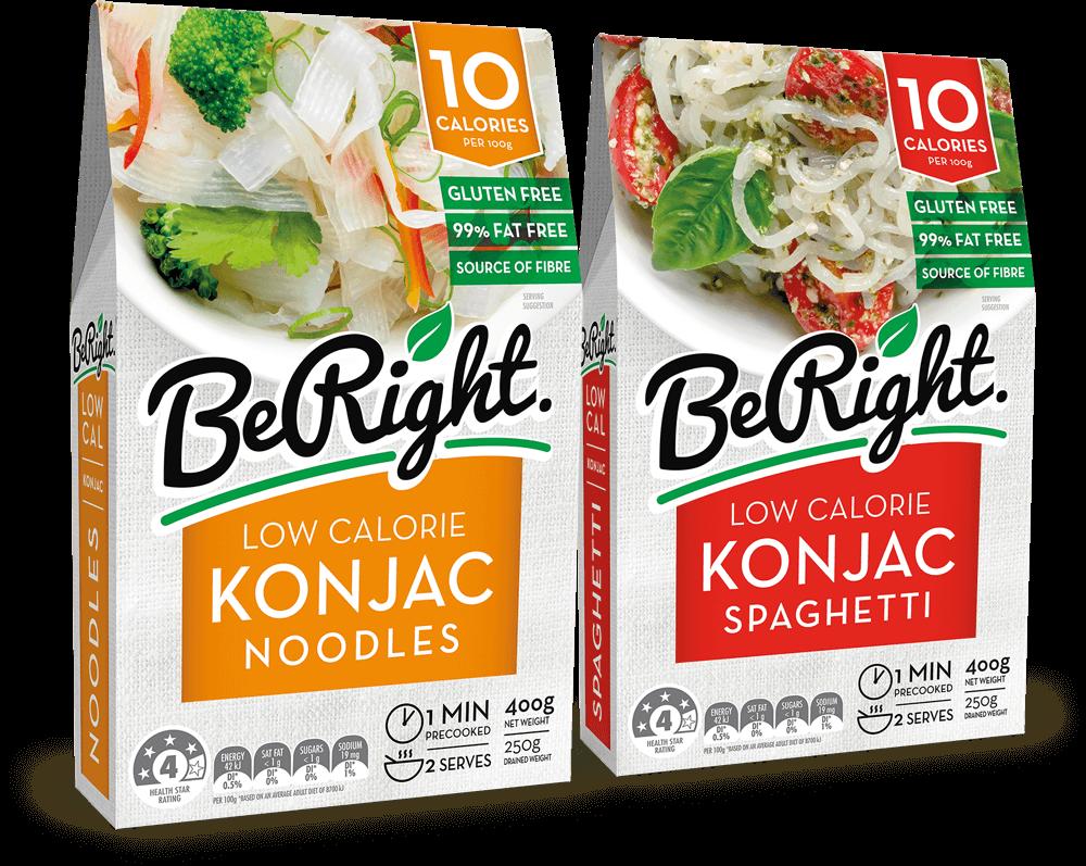 Image of Konjac Noodles Packaging