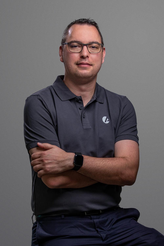 Geschäftsführer Dominic Aebi.