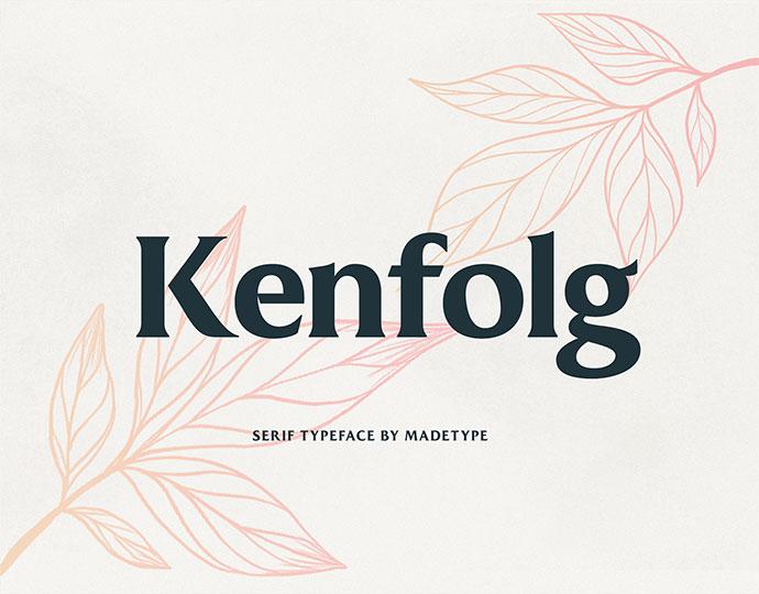 Made Kenfolg | Font