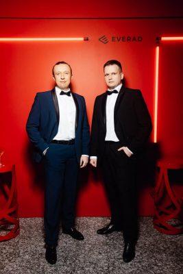 Дмитрий Голополосов (справа) с братом