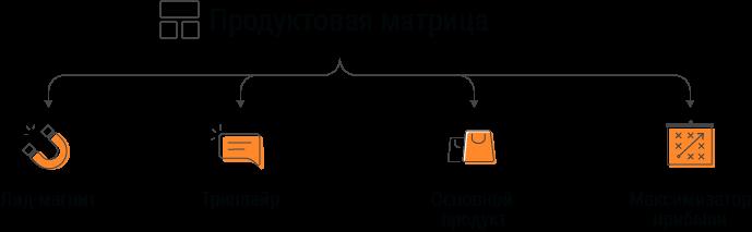 схема продуктовой матрицы