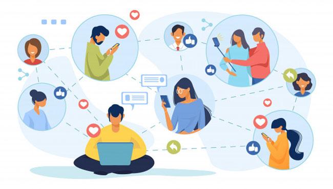 Отчет по использованию социальных сетей, интернета в целом и e-commerce на начало 2021