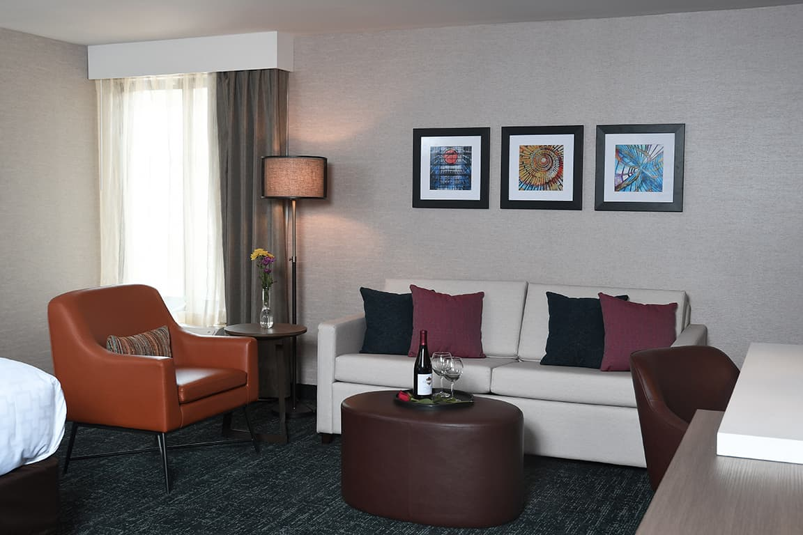 hotel room background