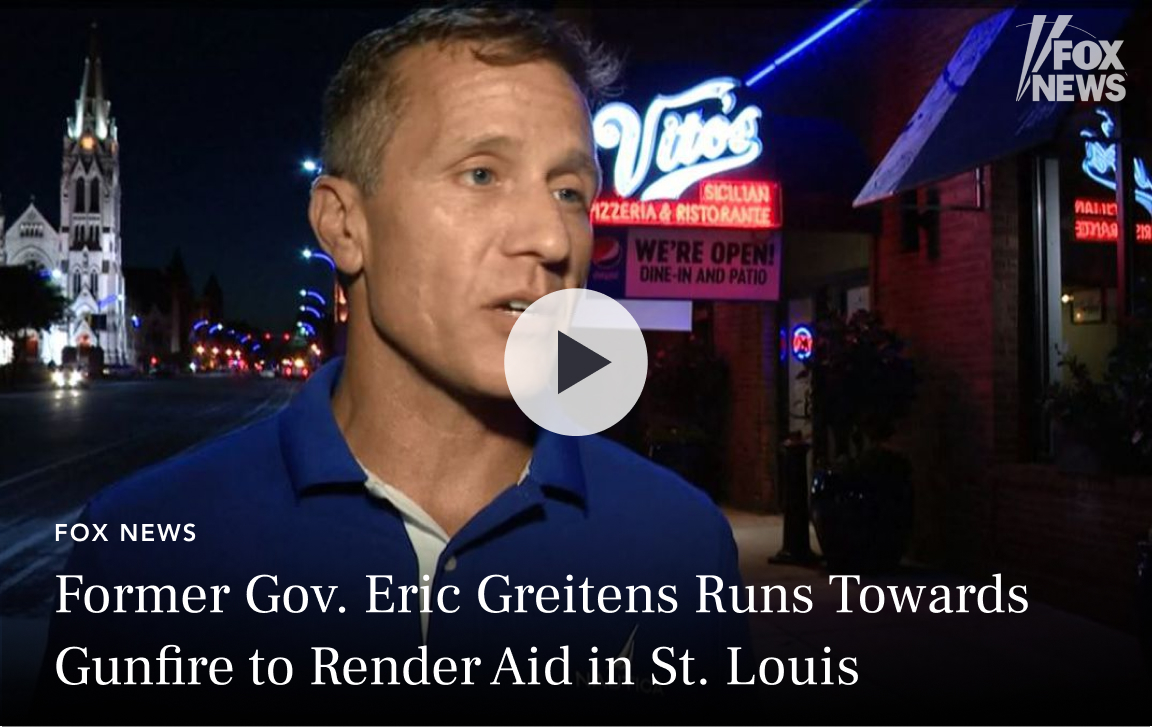 Eric Greitens on Fox Business