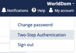 two step auth2