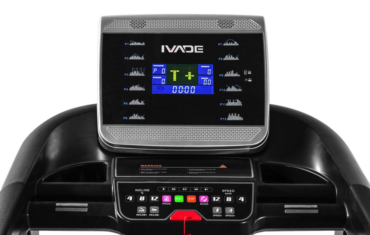 ลู่วิ่งไฟฟ้า IV50 - THE GYM CO.