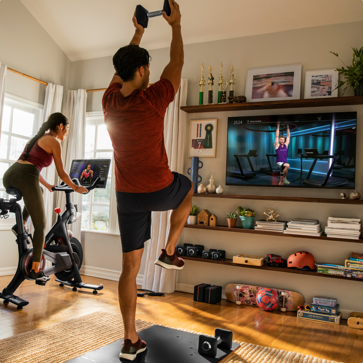 Peloton® | Indoor Exercise Bike with Online Streaming Classes.
