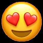 Heart Eyes Emoji