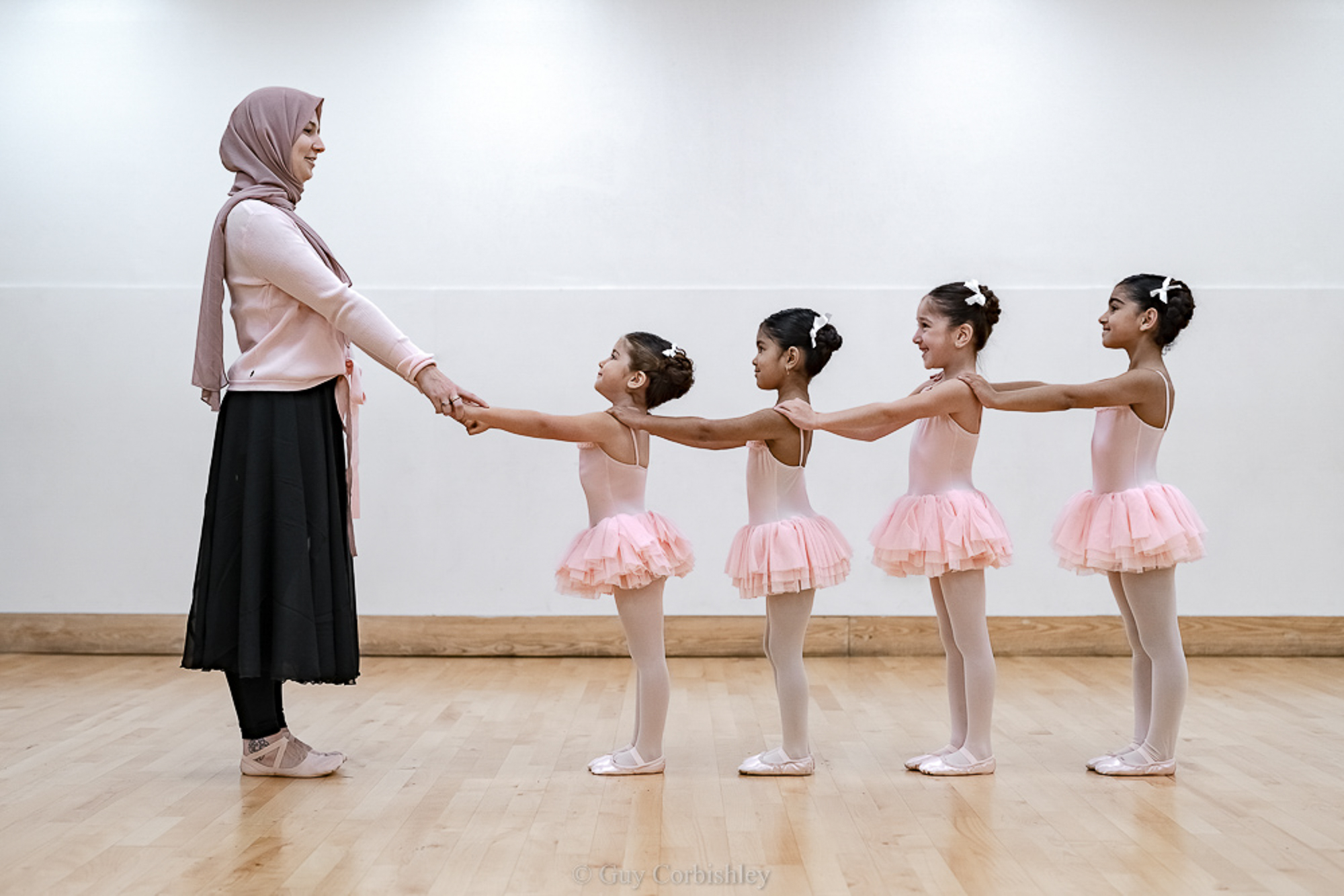 Grace and poise muslim ballet