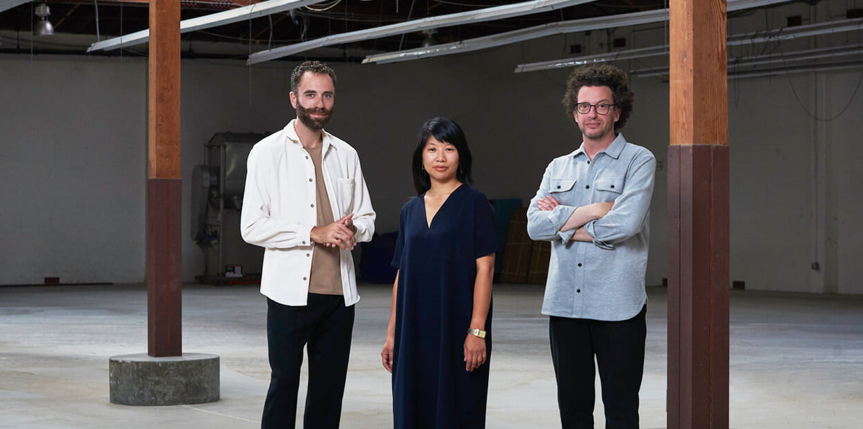 Founding team of Mycoworks - creators of a sustainable, bioengineered fine mycelium based alternative to high end leather for fashion and retail.