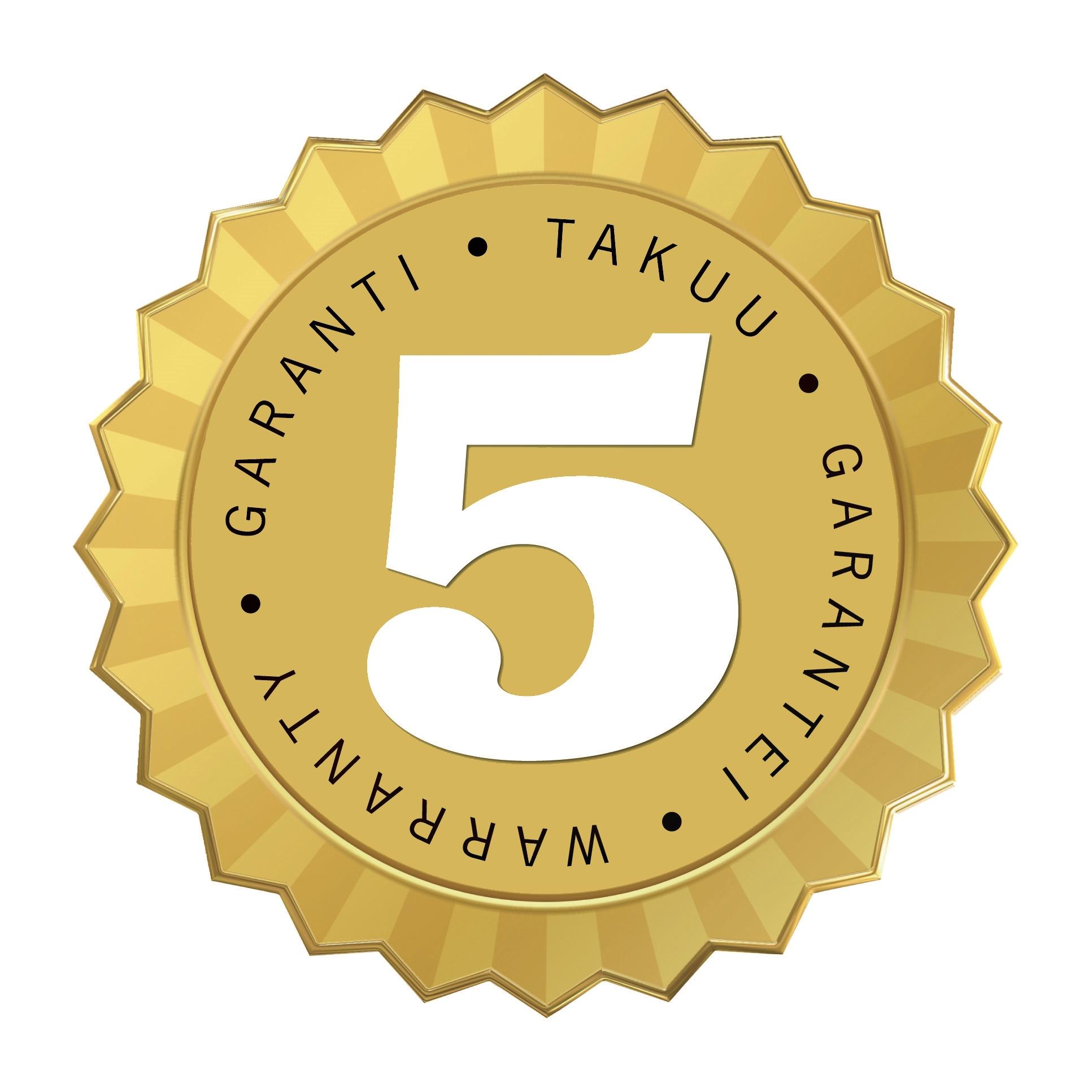 5 Jahre Garantie Icon