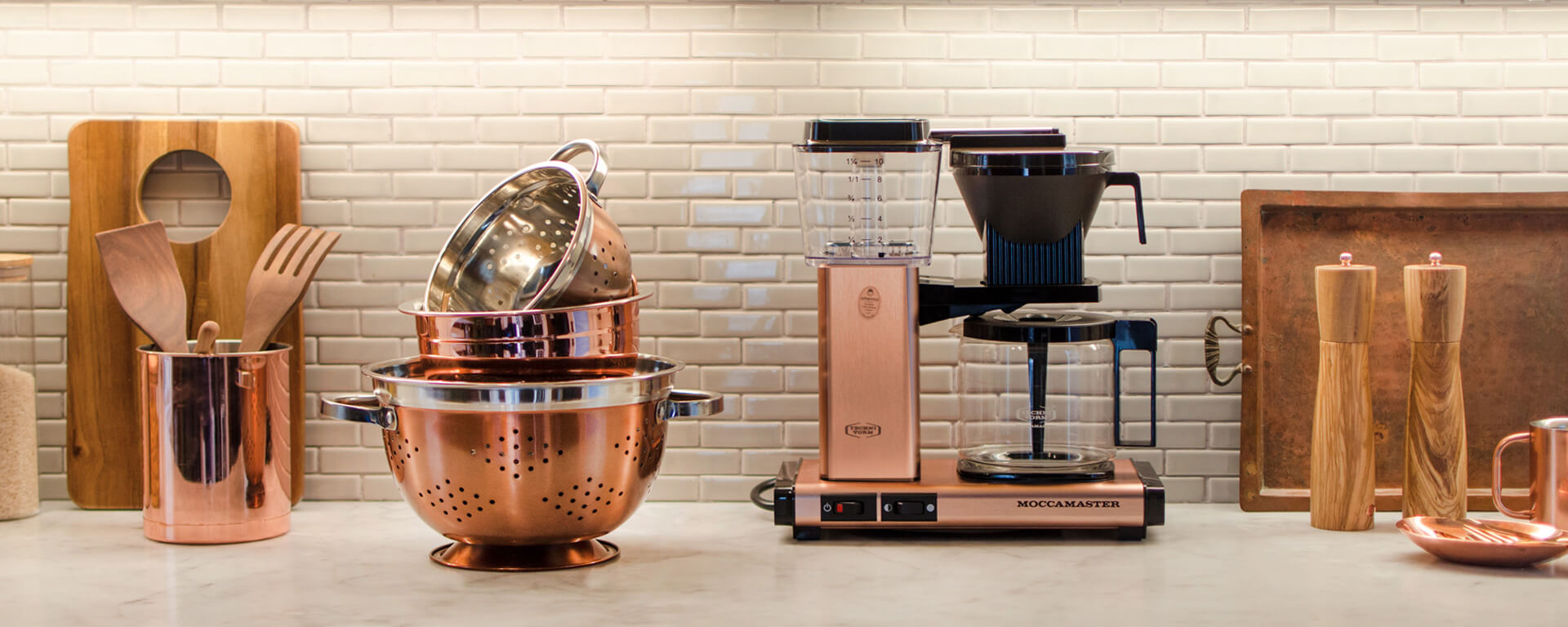 Moccamaster Select Copper in der Küche