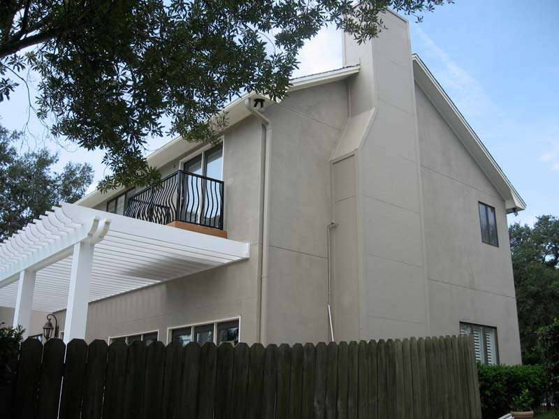 Stucco Gallery Before