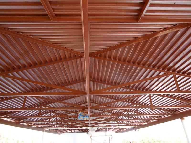 Metal Roof &Walls Gallery Before