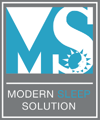 Modern Sleep Solution Logo