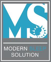 Modern Sleep Solution Logo