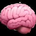 Emoji représentant un cerveau qui signifie que les solutions Noci sont intelligentes et sont couplées à votre CRM !