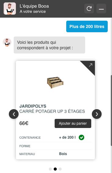 Noci propose des solutions de chatbot qui vous permettent de vendre vos produits e-commerce en automatique !