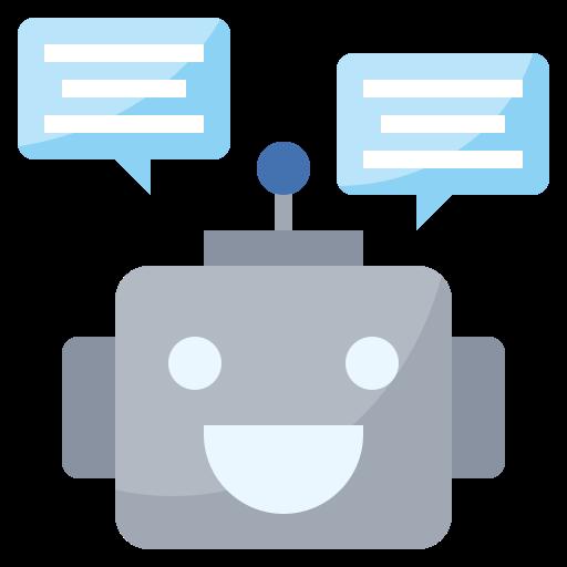 Robot heureux.