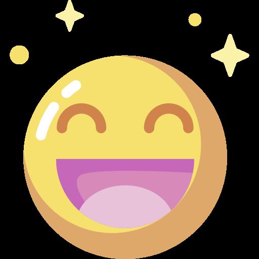 Emoji heureux.