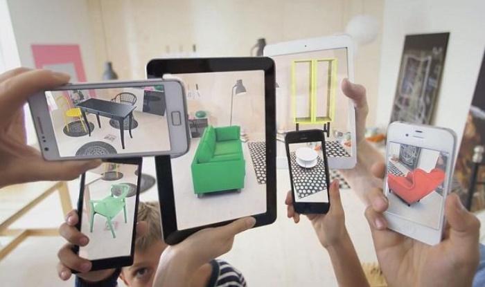 Exemple : Ikea permet à ses clients de visualiser les meubles de leur catalogue dans leurs propres salons !