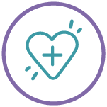 Heart and Plus Icon