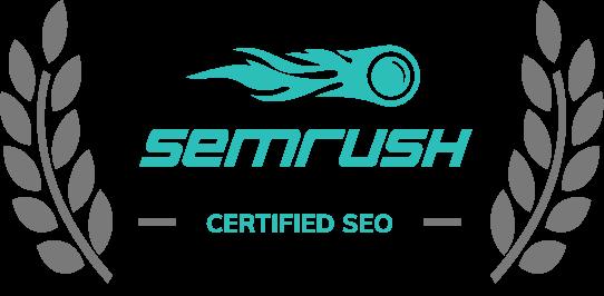 SEMrush award black
