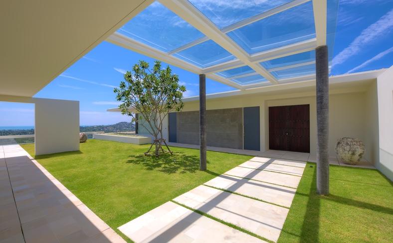 Thai architecture - Samujana luxury villas