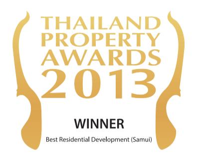 Thailand property awards 2013 winner - Samujana luxury villas