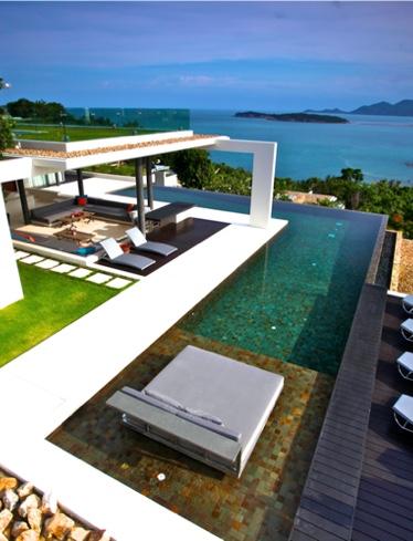 Architectural homes for sale - Samujana luxury villas