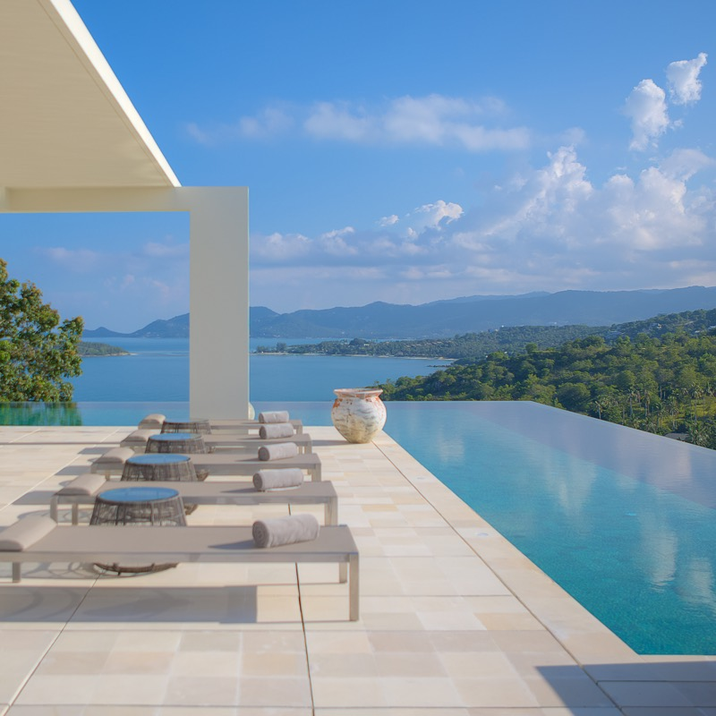 Thailand real estate Samujana luxury villas
