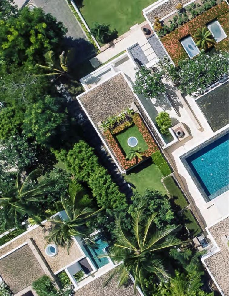 Unique architecture - Samujana luxury villas