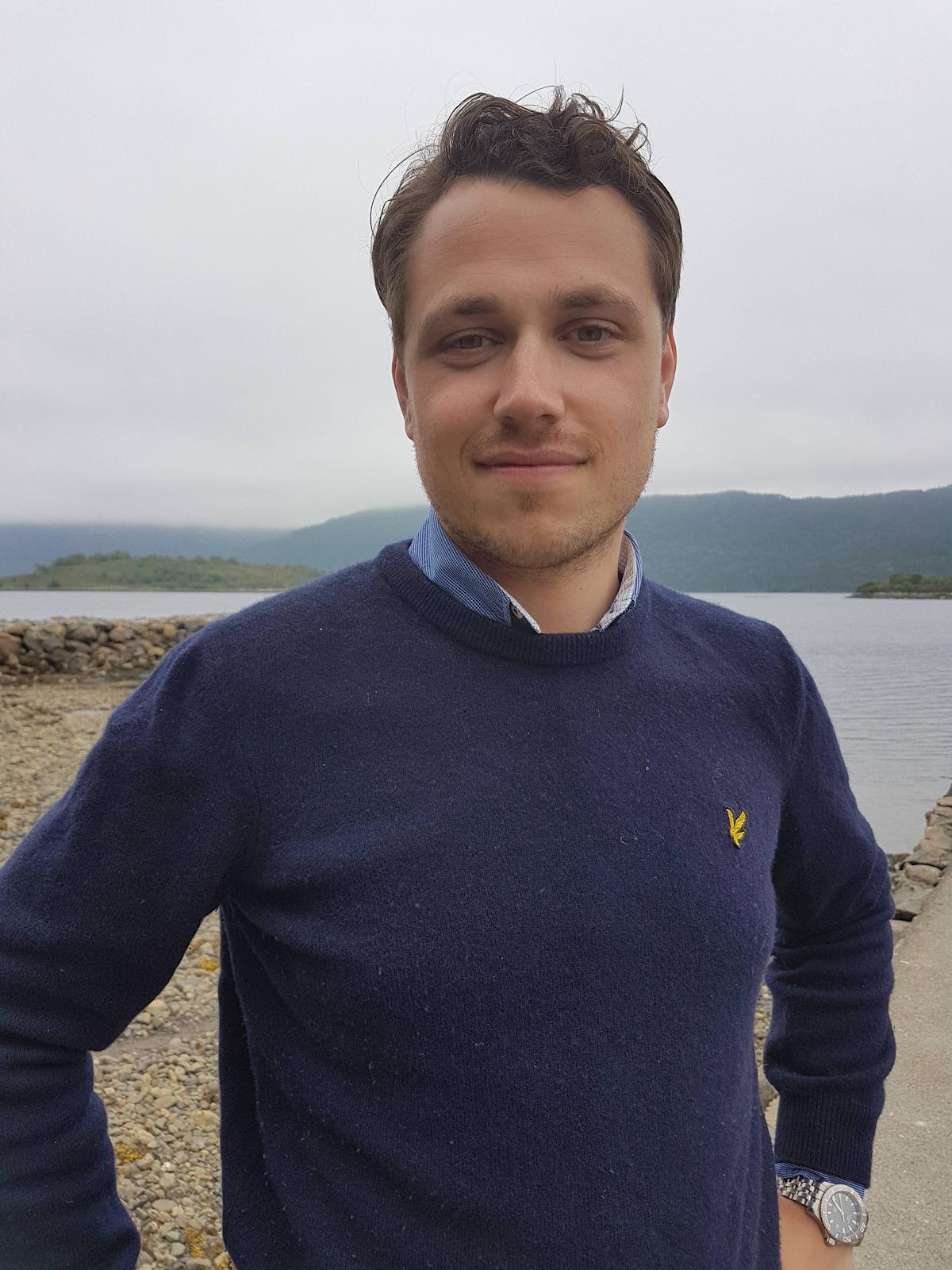 Our business development associate: Lars Thoresen Haug