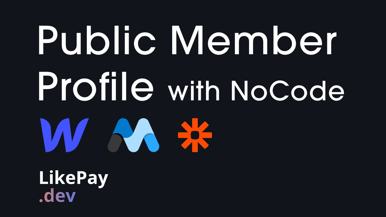 Public member profiles with Webflow and Memberstack?