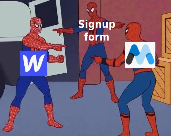 Webflow + MemberStack (Signup form)