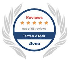Avvo 5 Star Reviews Badge