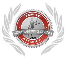 Top 10 Attorney Magazine Badge