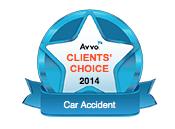 avvo clients choice 2014 car accident