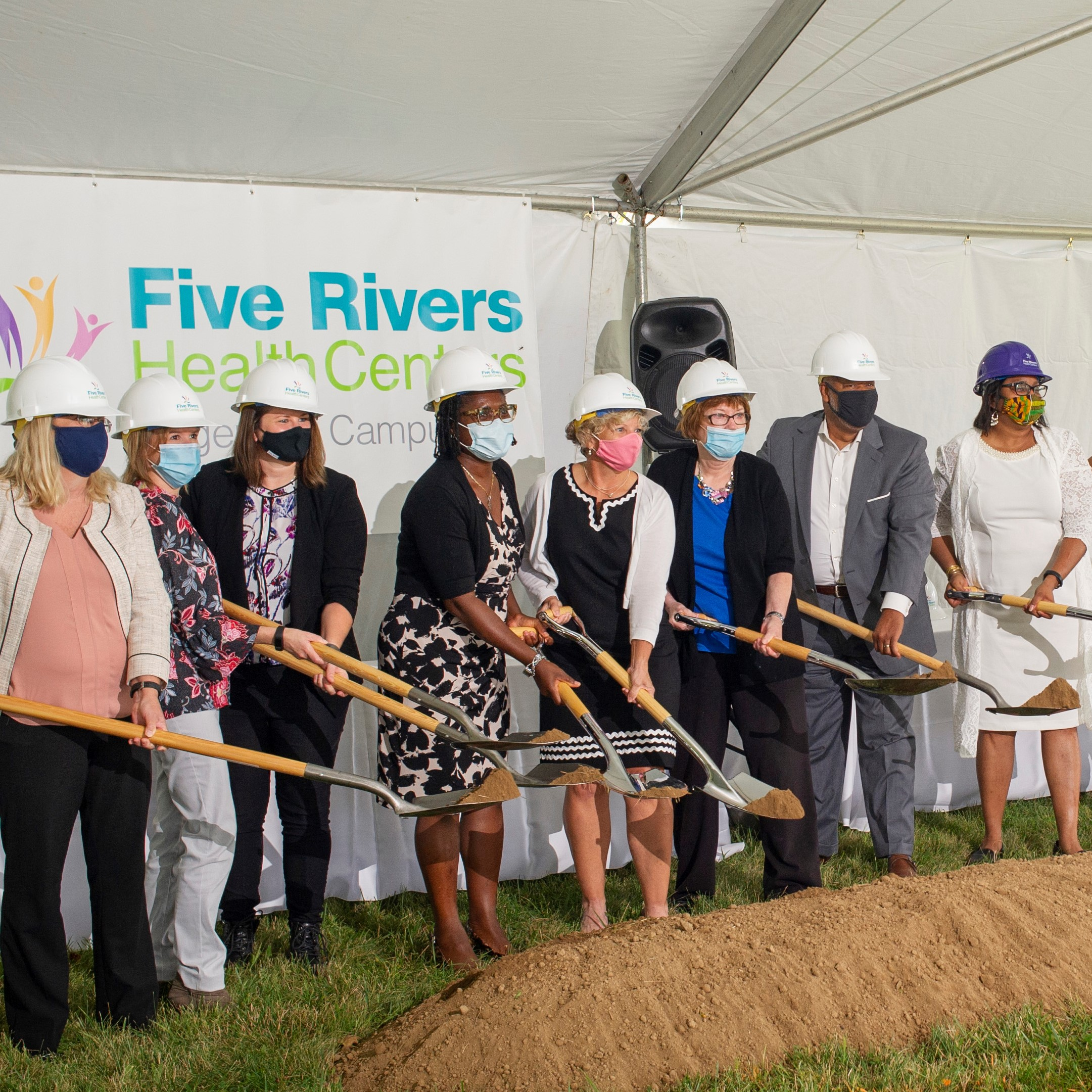 FRHC Breaks Ground on New Edgemont Campus