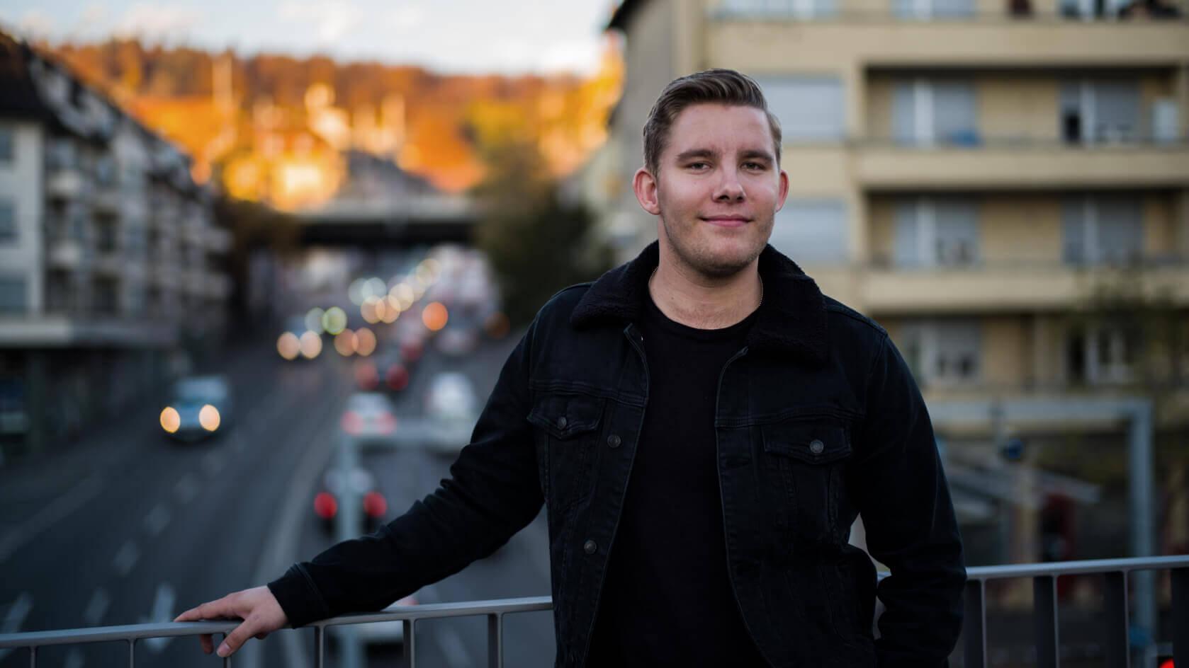 Portrait of Cédric Moore