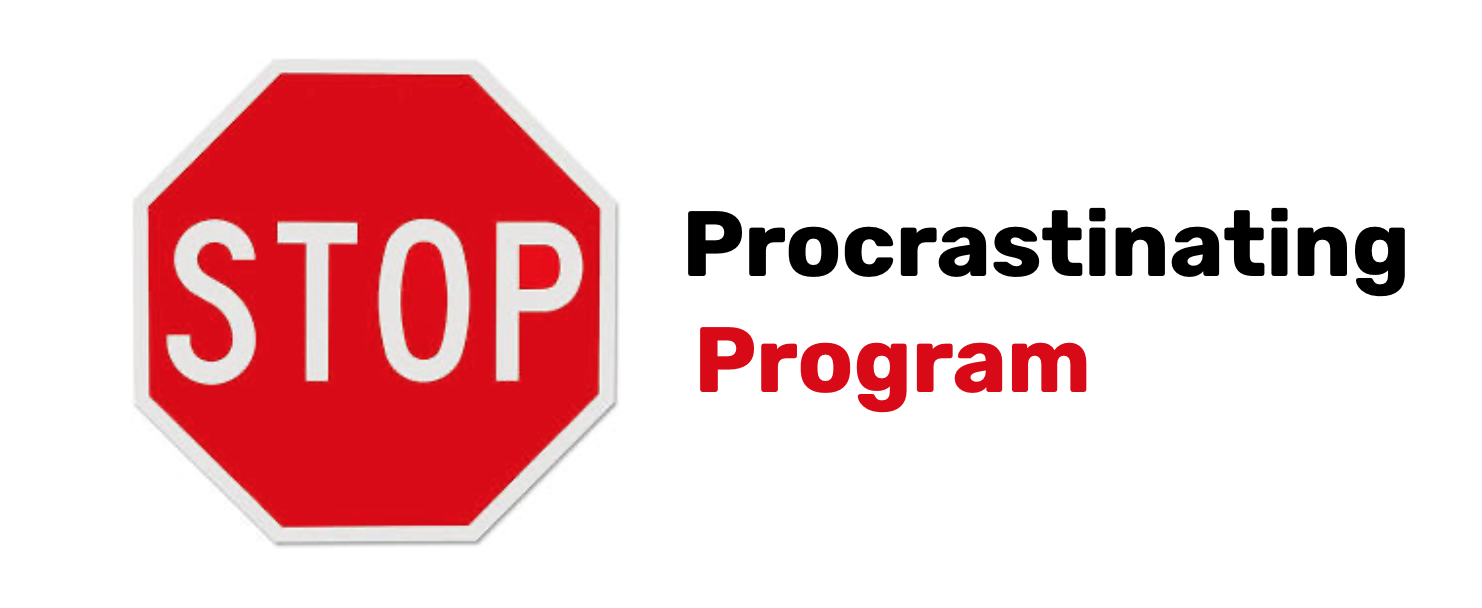 Stop Procrastinating Program