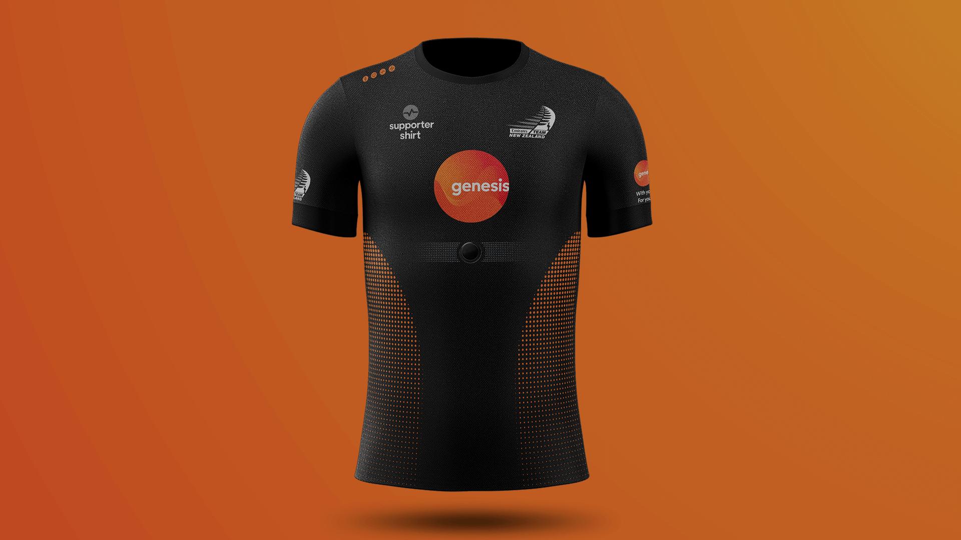 Genesis Energy & Emirates Team New Zealand Supports Shirt