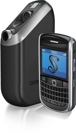 Soberlink Device and Cell Phone
