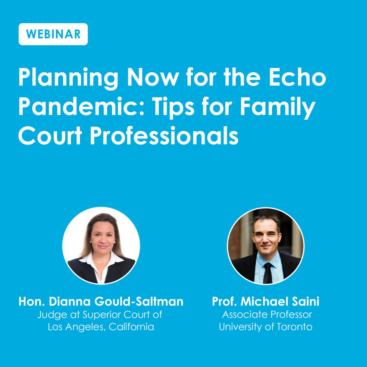 Planning Now For The Echo Pandemic Webinar