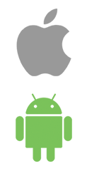iPhone and Android Logo