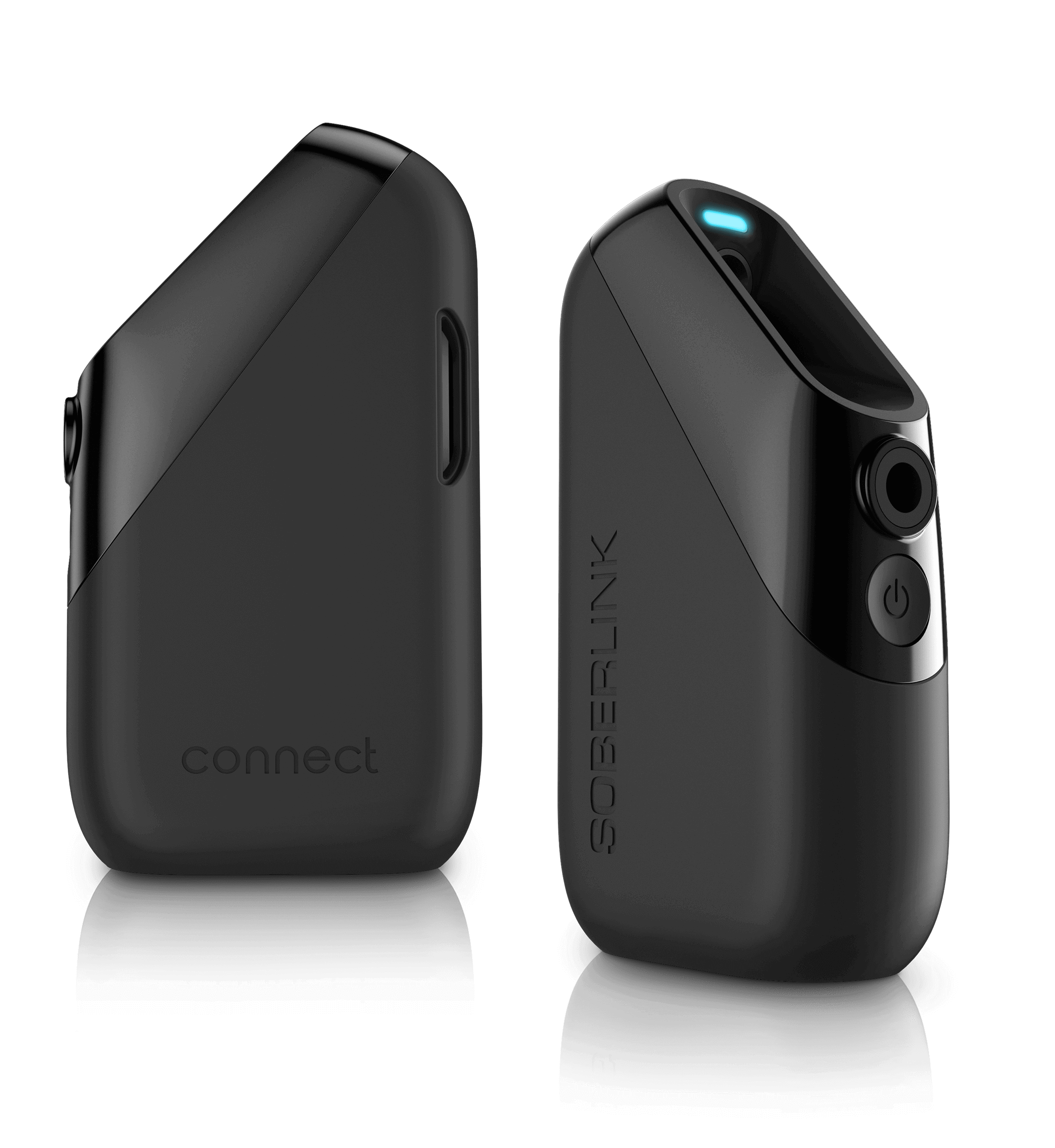 Soberlink Connect Device Front and Back