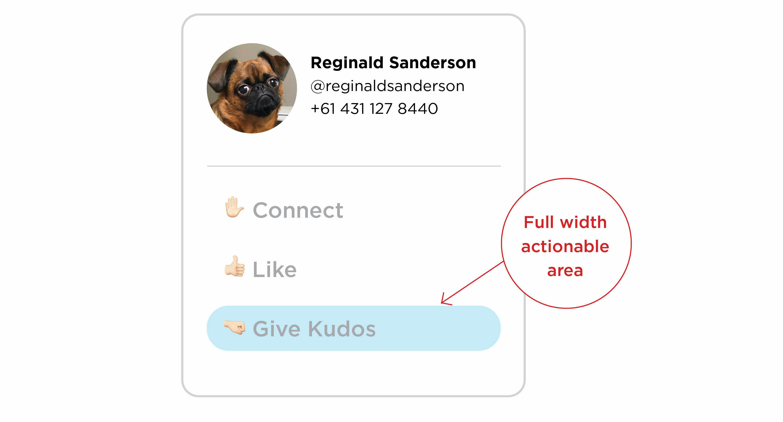 UI Design - Optimise your click-through