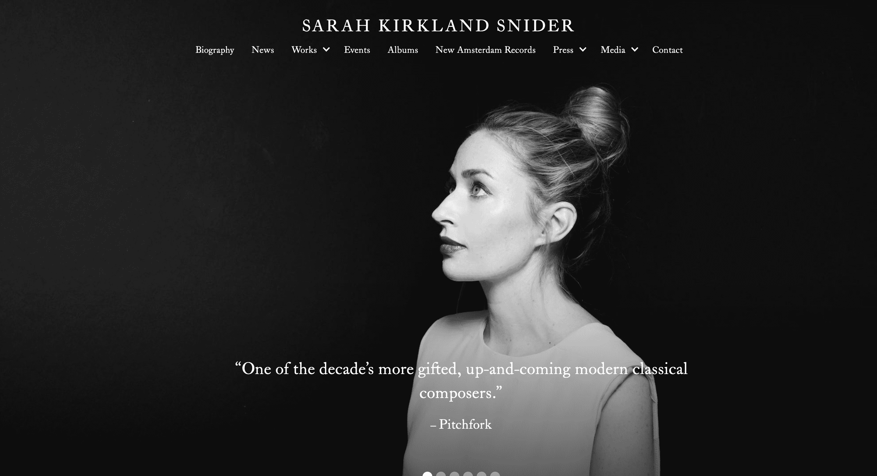 Sarah Kirkland Snider : Unison Media