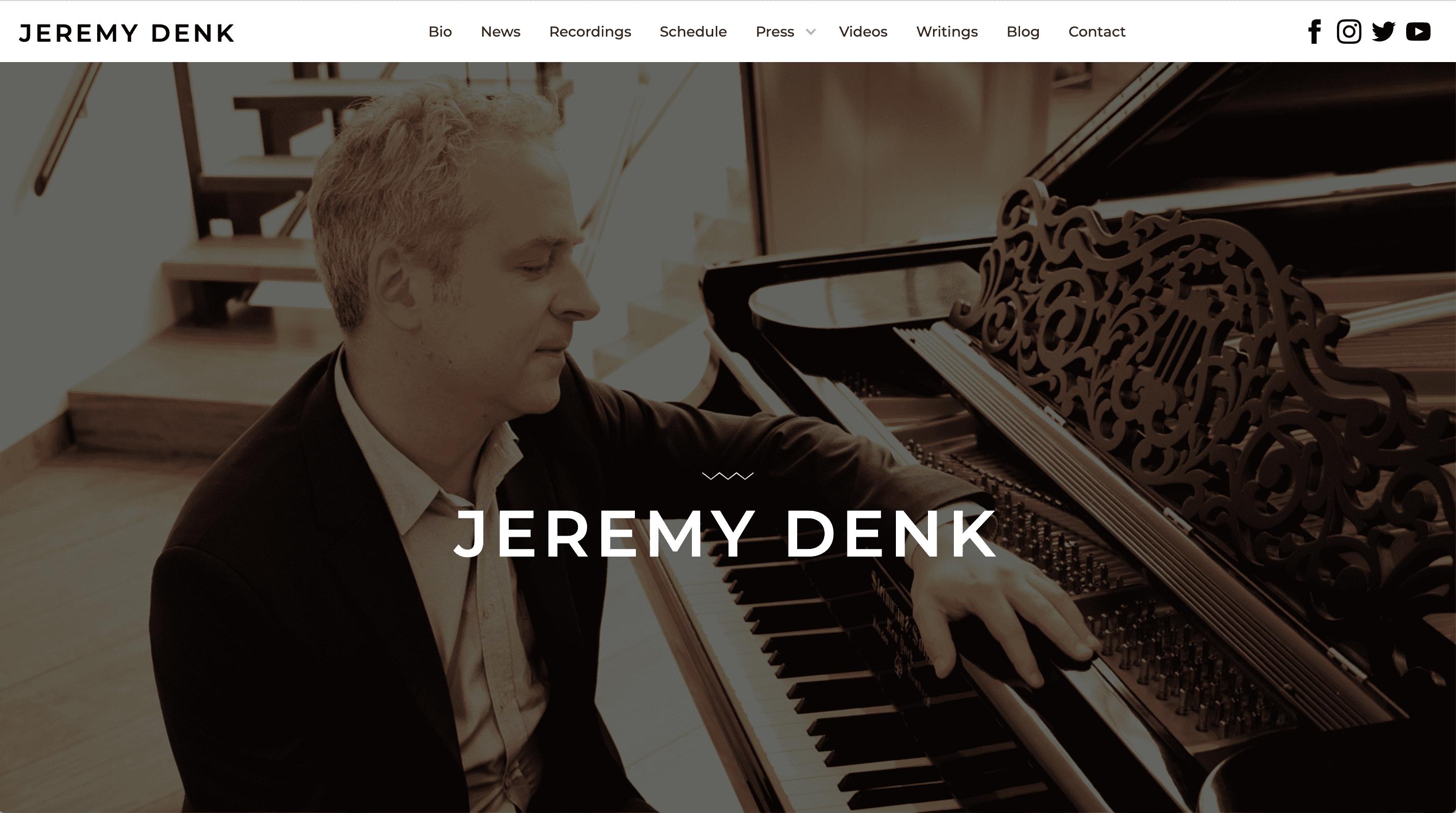 Jeremy Denk : Unison Media