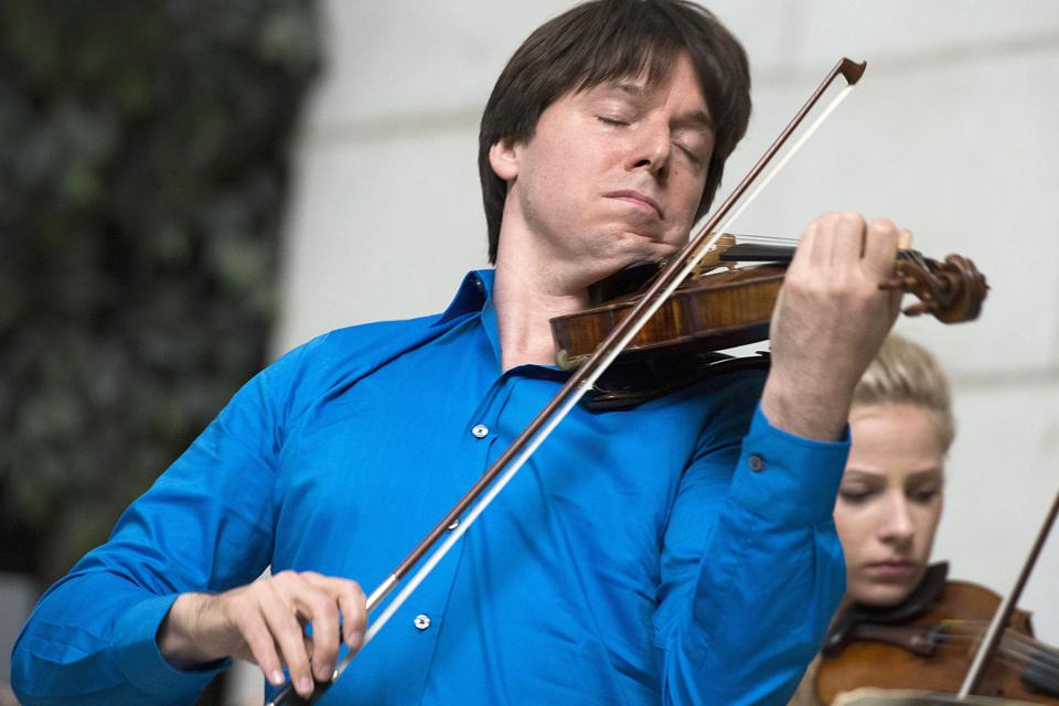 How Joshua Bell Is Spending The Pandemic: Playing Basketball As Well As His Stradivarius